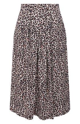 Женская юбка из вискозы ZADIG&VOLTAIRE разноцветного цвета, арт. SKCL0301F   Фото 1