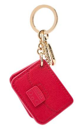 Женский брелок FURLA темно-розового цвета, арт. WR00016/B30000 | Фото 1