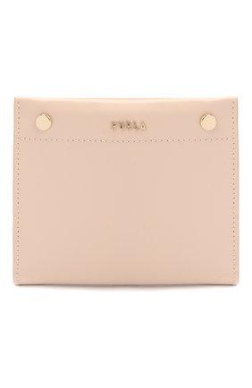 Женские кожаный кошелек FURLA светло-бежевого цвета, арт. PDV201L/VNC000   Фото 1