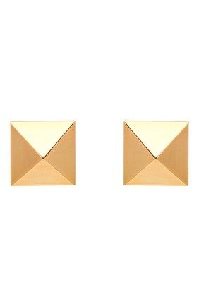 Женские серьги VALENTINO золотого цвета, арт. VW2J0G35/MET | Фото 1