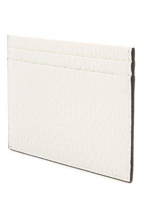 Женский кожаный футляр для кредитных карт CHRISTIAN LOUBOUTIN белого цвета, арт. 3205078/W KI0S   Фото 2