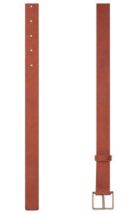 Женский кожаный ремень FORTE_FORTE коричневого цвета, арт. 8129 | Фото 2