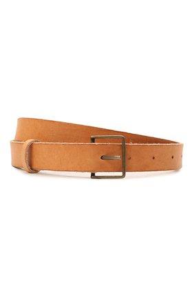 Женский кожаный ремень FORTE_FORTE светло-коричневого цвета, арт. 8129 | Фото 1