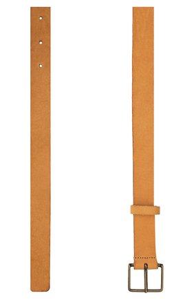 Женский кожаный ремень FORTE_FORTE светло-коричневого цвета, арт. 8129 | Фото 2
