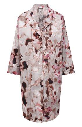 Женская хлопковая сорочка ZIMMERLI светло-розового цвета, арт. 5143-39055 | Фото 1
