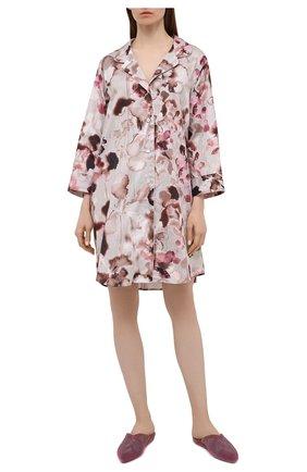 Женская хлопковая сорочка ZIMMERLI светло-розового цвета, арт. 5143-39055 | Фото 2