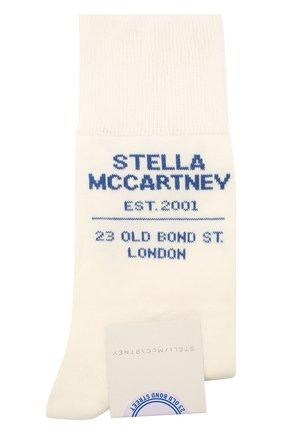 Женские носки STELLA MCCARTNEY белого цвета, арт. 603074/S7229 | Фото 1