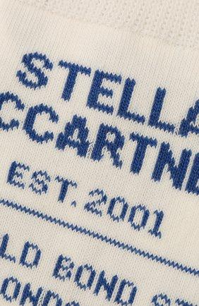 Женские носки STELLA MCCARTNEY белого цвета, арт. 603074/S7229 | Фото 2