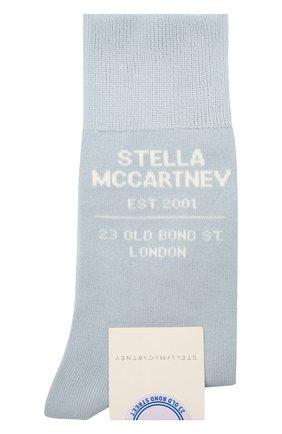 Женские носки STELLA MCCARTNEY голубого цвета, арт. 603074/S7229 | Фото 1