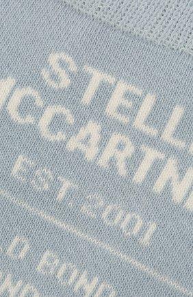 Женские носки STELLA MCCARTNEY голубого цвета, арт. 603074/S7229 | Фото 2