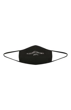 Мужская маска для лица STELLA MCCARTNEY черного цвета, арт. 602935/S2243 | Фото 1 (Материал: Хлопок, Текстиль; Мужское Кросс-КТ: Маска)