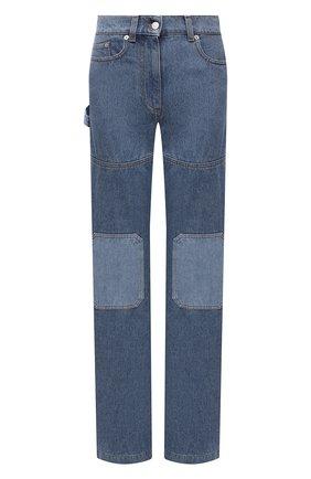 Женские джинсы JW ANDERSON голубого цвета, арт. DT0002 PG0427 | Фото 1