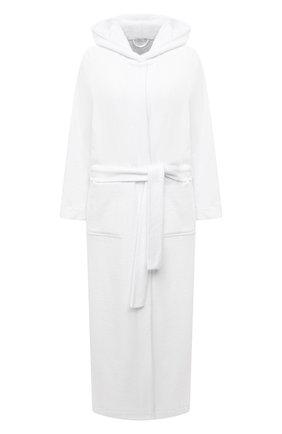 Женский халат HANRO белого цвета, арт. 077304 | Фото 1