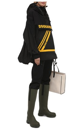 Женская анорак DSQUARED2 черного цвета, арт. S75AM0829/S53578 | Фото 2