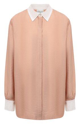 Женская рубашка FORTE_FORTE бежевого цвета, арт. 8068 | Фото 1