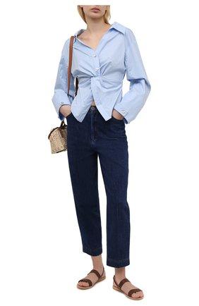 Женские джинсы FORTE_FORTE синего цвета, арт. 8034 | Фото 2