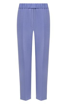 Женские брюки из вискозы и шерсти FORTE_FORTE голубого цвета, арт. 8006 | Фото 1