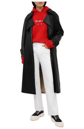 Женские джинсы 3X1 белого цвета, арт. WP0371094/0PTIC WHITE | Фото 2