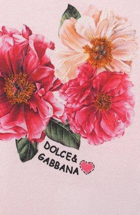 Детское комплект из трех боди DOLCE & GABBANA разноцветного цвета, арт. L2J0M6/G7XLS | Фото 9