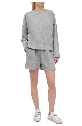 Женский хлопковый костюм THE FRANKIE SHOP серого цвета, арт. ST JAI KR 08 | Фото 1