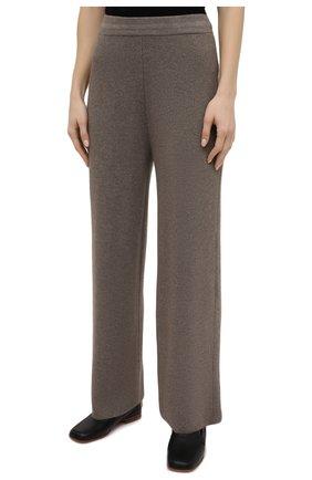 Женские брюки THE FRANKIE SHOP коричневого цвета, арт. PA RKL KR 10 | Фото 3