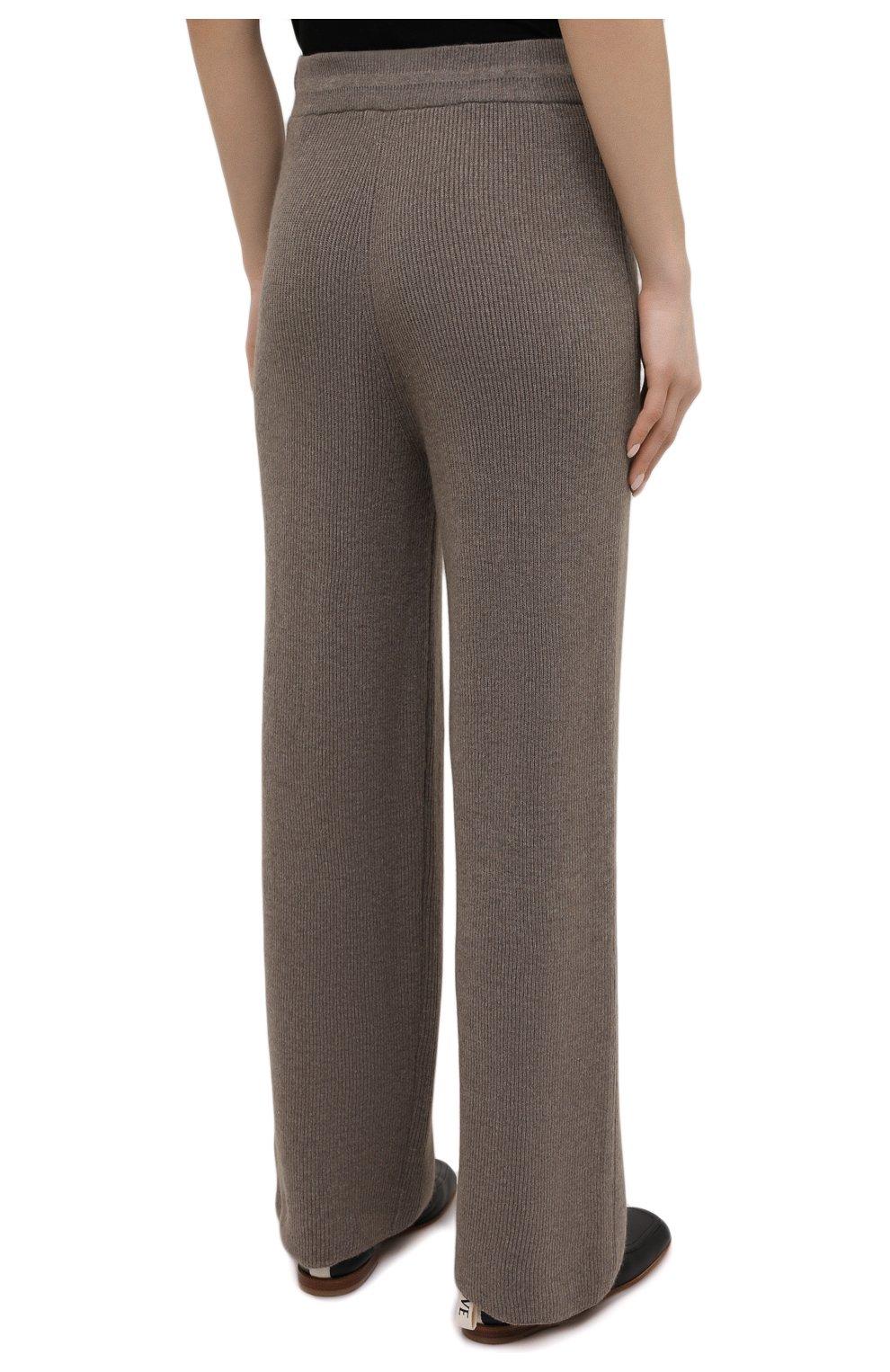 Женские брюки THE FRANKIE SHOP коричневого цвета, арт. PA RKL KR 10 | Фото 4