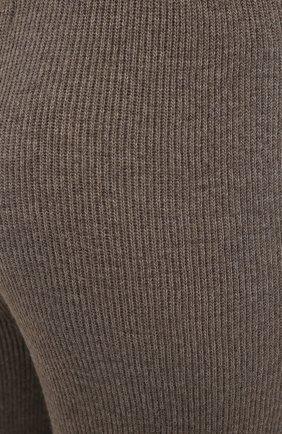 Женские брюки THE FRANKIE SHOP коричневого цвета, арт. PA RKL KR 10 | Фото 5