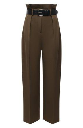 Женские брюки THE FRANKIE SHOP хаки цвета, арт. PA PPT KR 09 | Фото 1