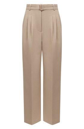 Женские брюки THE FRANKIE SHOP бежевого цвета, арт. PA BSP KR 09/WHEAT | Фото 1