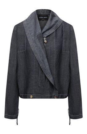 Женская куртка GIORGIO ARMANI синего цвета, арт. 1SHGG0KY/T02GG | Фото 1