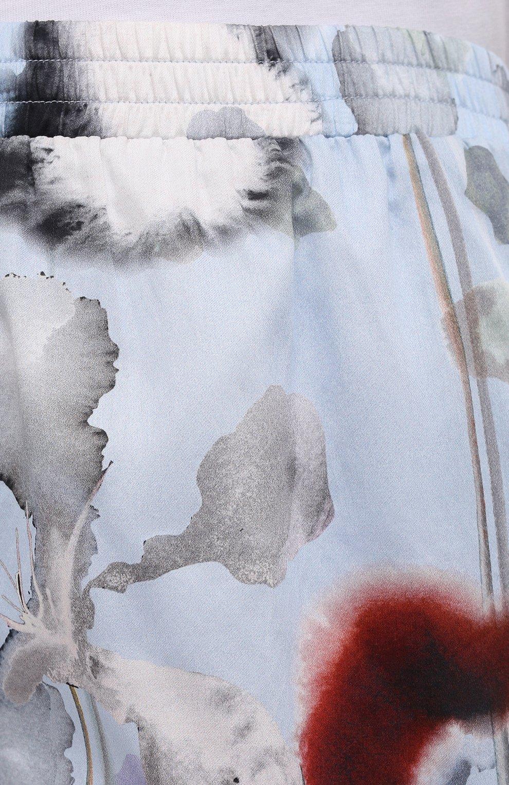 Женские хлопковые шорты ZIMMERLI светло-голубого цвета, арт. 5143-39080   Фото 5