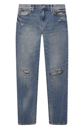 Детские джинсы POLO RALPH LAUREN голубого цвета, арт. 322832731   Фото 1