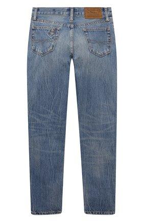 Детские джинсы POLO RALPH LAUREN голубого цвета, арт. 322832731   Фото 2
