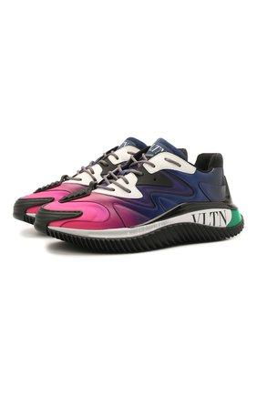 Женские кроссовки valentino garavani wade runner VALENTINO разноцветного цвета, арт. VW2S0BF4/GFV   Фото 1
