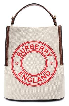 Женская сумка peggy BURBERRY белого цвета, арт. 8036823   Фото 1