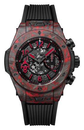 Мужские часы unico red carbon alex ovechkin HUBLOT бесцветного цвета, арт. 411.QV.1123.NR.OVK21 | Фото 2