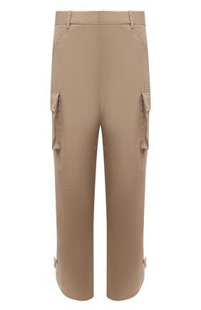 Мужские хлопковые брюки-карго BOTTEGA VENETA бежевого цвета, арт. 650994/V0BR0   Фото 1