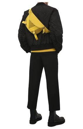 Мужская поясная сумка BOTTEGA VENETA желтого цвета, арт. 652551/V0GK1 | Фото 2