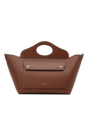 Женская сумка pocket BURBERRY коричневого цвета, арт. 8039045 | Фото 1