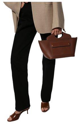 Женская сумка pocket BURBERRY коричневого цвета, арт. 8039045 | Фото 2