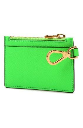 Мужской кожаный футляр для кредитных карт TOM FORD зеленого цвета, арт. Y0310T-LCL143 | Фото 2