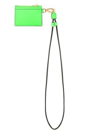 Мужской кожаный футляр для кредитных карт TOM FORD зеленого цвета, арт. Y0310T-LCL143 | Фото 5