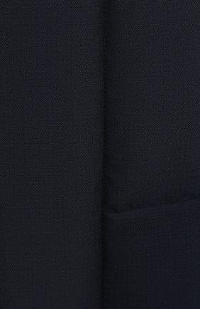 Мужской пуховый жилет ERMENEGILDO ZEGNA синего цвета, арт. UWT97/W116 | Фото 5