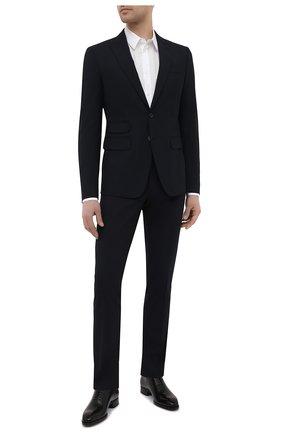 Мужской шерстяной костюм DSQUARED2 темно-синего цвета, арт. S74FT0420/S40320   Фото 1