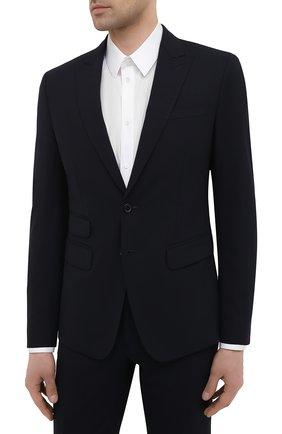 Мужской шерстяной костюм DSQUARED2 темно-синего цвета, арт. S74FT0420/S40320   Фото 2