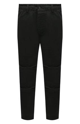 Мужские хлопковые брюки DSQUARED2 темно-зеленого цвета, арт. S74KB0536/S39021 | Фото 1