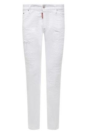 Мужские джинсы DSQUARED2 белого цвета, арт. S74LB0937/STN833   Фото 1