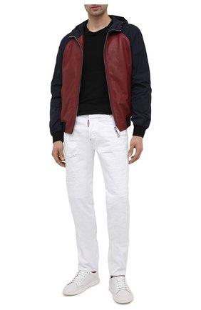 Мужские джинсы DSQUARED2 белого цвета, арт. S74LB0937/STN833   Фото 2
