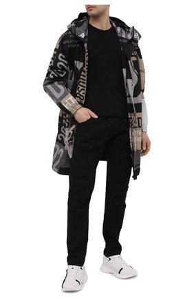 Мужские джинсы DSQUARED2 черного цвета, арт. S74LB0937/STN833 | Фото 2 (Длина (брюки, джинсы): Стандартные; Материал внешний: Хлопок; Стили: Гранж; Кросс-КТ: Деним; Силуэт М (брюки): Прямые)
