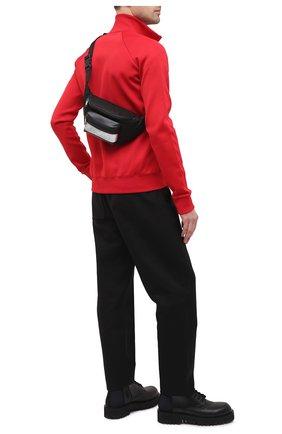 Мужская комбинированная поясная сумка light 3 GIVENCHY черного цвета, арт. BK5037K11K   Фото 2